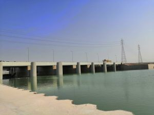 Abu-Shkair Barrage completion